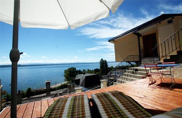 Holiday overlooking Lake neuchatel